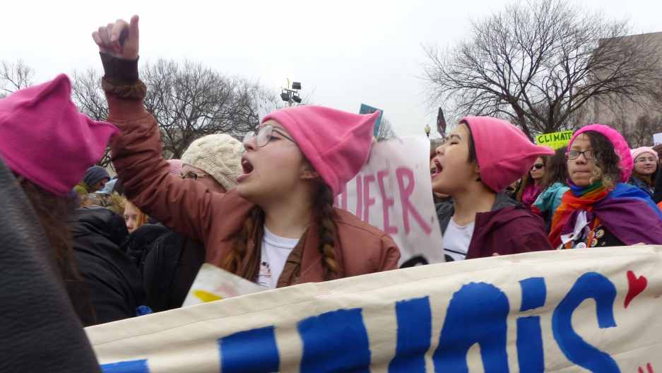 Marchers in DC