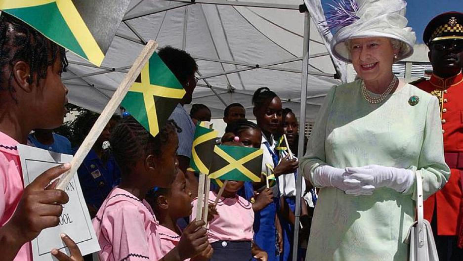 """Résultat de recherche d'images pour """"Elizabeth II, Jamaica"""""""