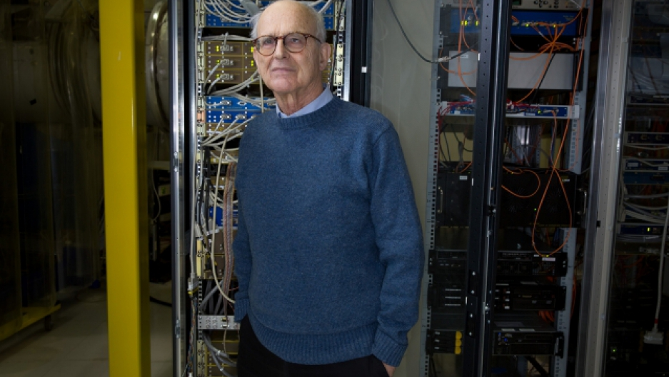 MIT professor Rainer Weiss dreamed up the idea behind an antennae so sensitive it could detect faint invisible ripples in space and time.