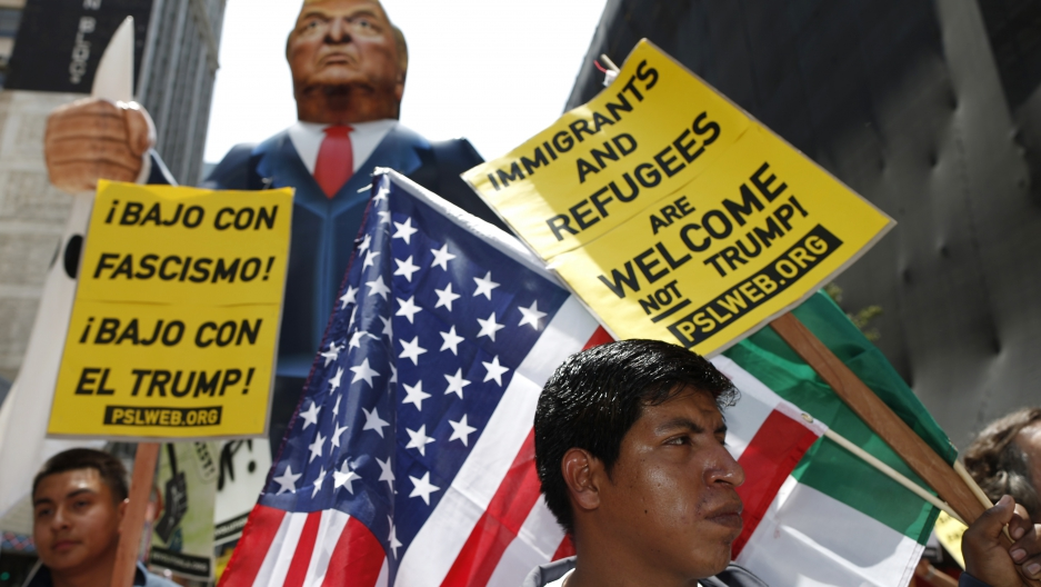 When thousands of activists marched last May Day in Los Angeles, they chanted a message that advocates have articulated time and again in US history: immigrants' rights are human rights.