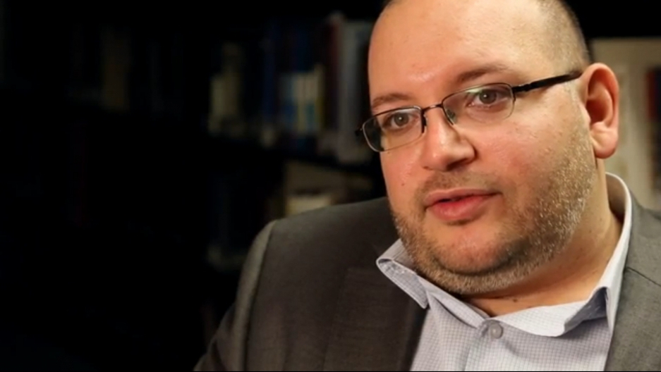 Jason Rezaian is being held in an Iranian jail.