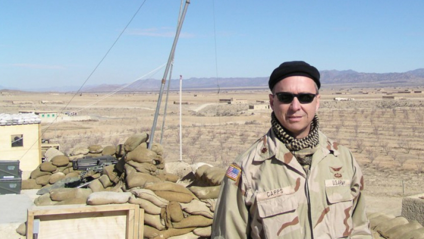 Afghanistan, early spring 2003. At a Special Forces camp near the Pakistan border.