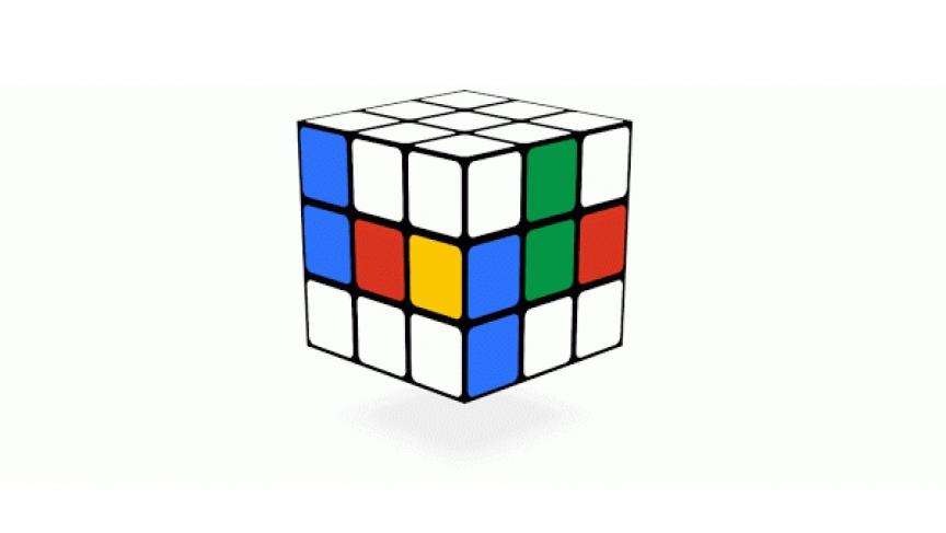 Rubik's cube doole by Google