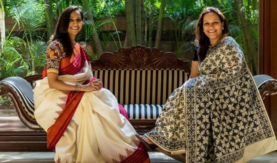 Ally Matthan and Anju Maudgal Kadam vowed to wear saris 100 times over the course of a year — their challenge was quickly taken up by other Indian women.