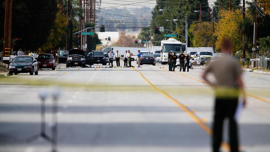 San Bernardino investigation