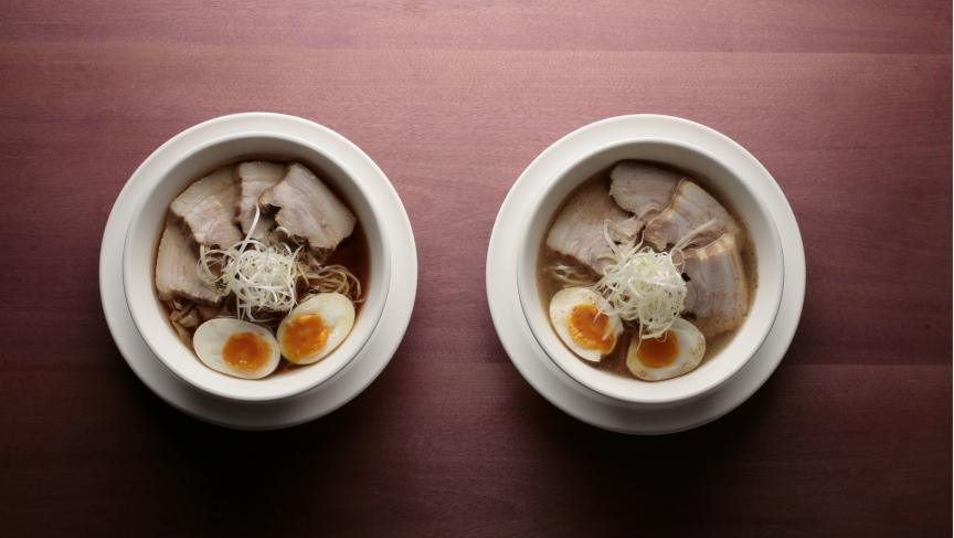 Shio and Shoyu ramen