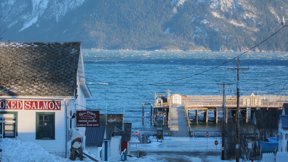 Haines, AK, in December