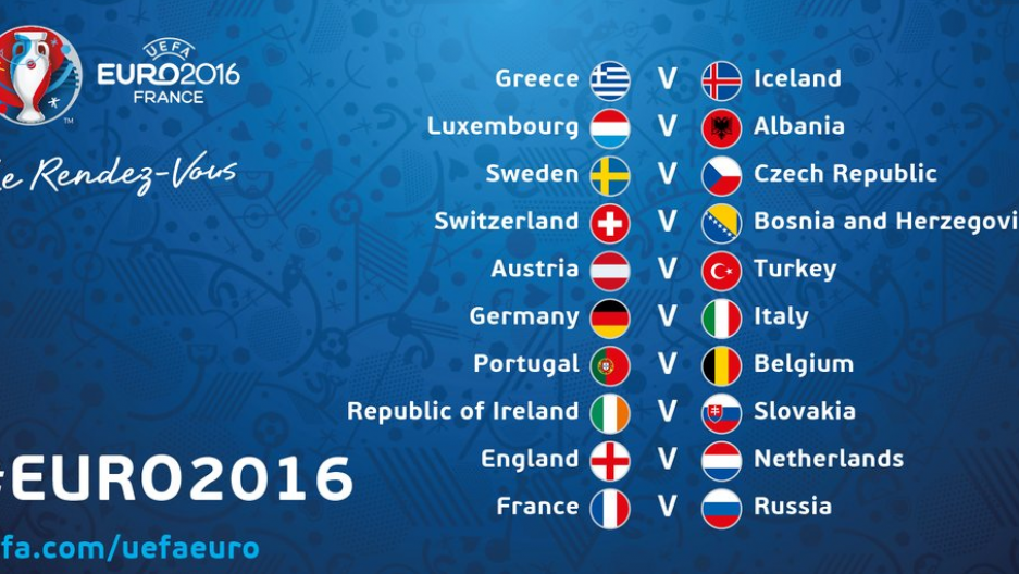 Euro 2016 gets underway in France from June 10 to July 10.