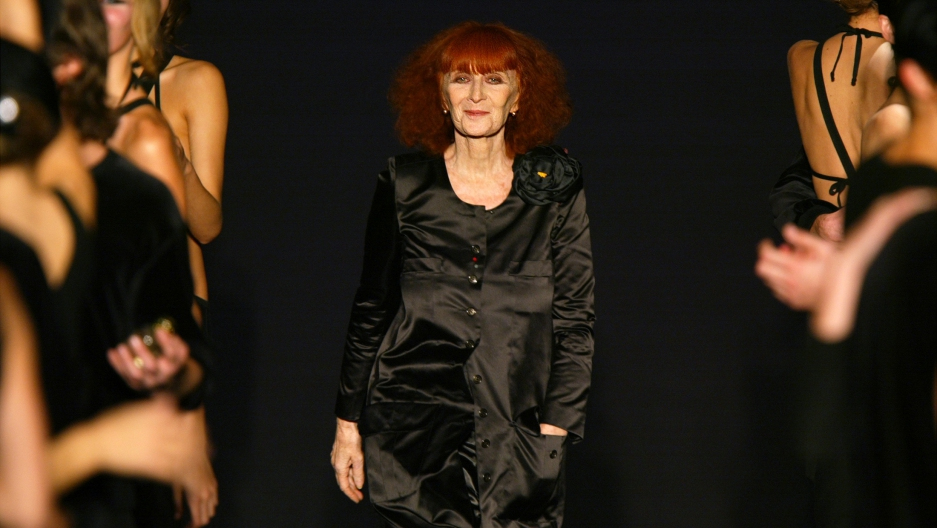 c93e6779ce3 Remembering an icon of the French fashion world: Sonia Rykiel dies ...