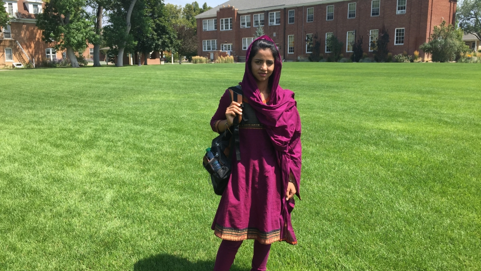 Born in Afghanistan, Sonita Alizadeh got a full scholarship to go to Wasatch Academy, a boarding school in the heart of Utah.