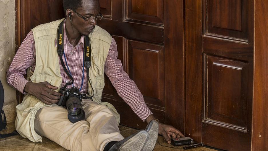 South Sudan journalist