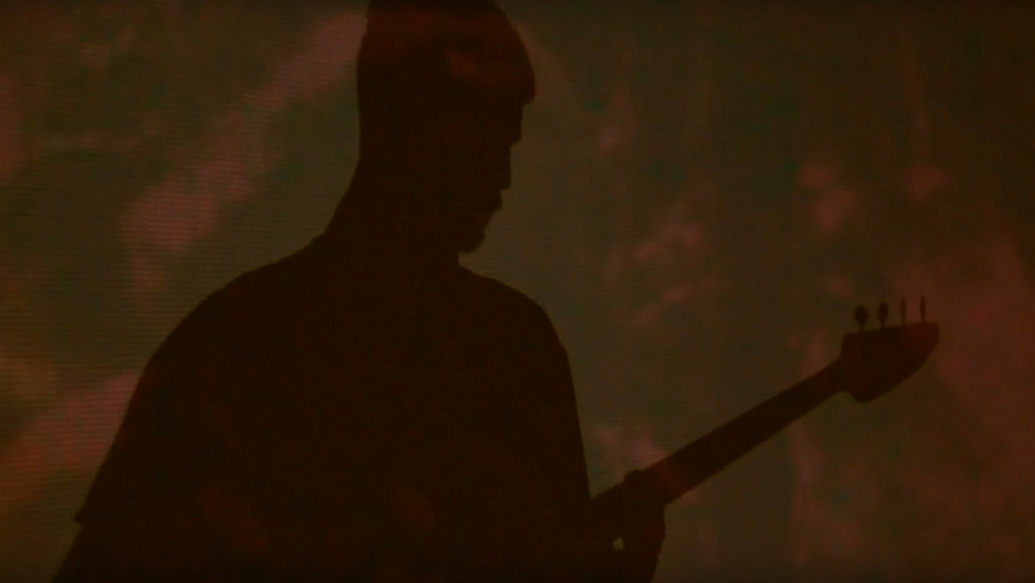 Screenshot from Soviet Soviet's video of their song Endless Beauty