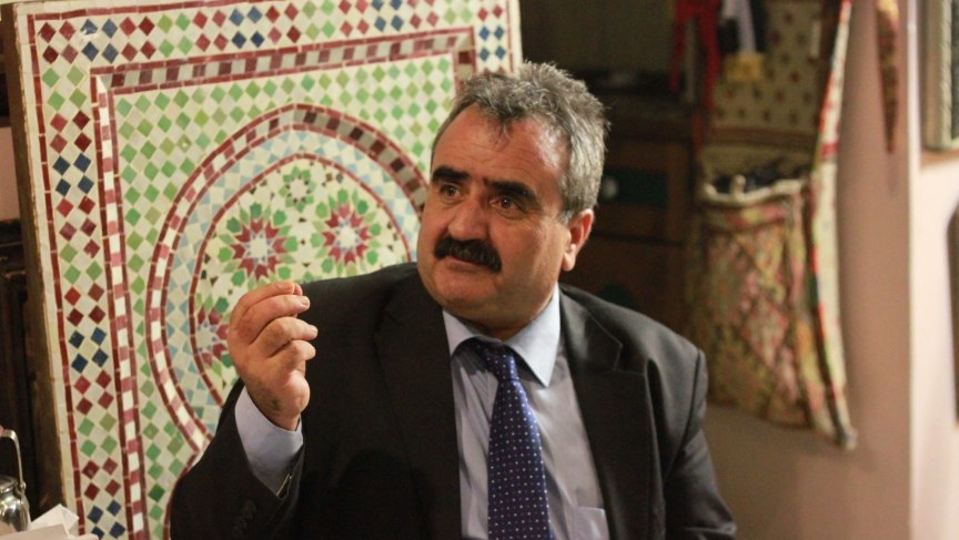 Asad Ewaiwi, a Palestinian political activist and university professor of political science.