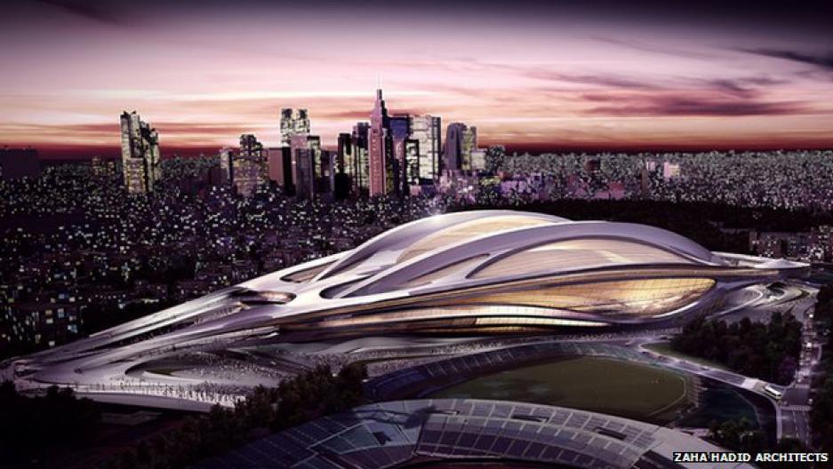 Zaha Hadid's Tokyo Olympic stadium design has been scrapped