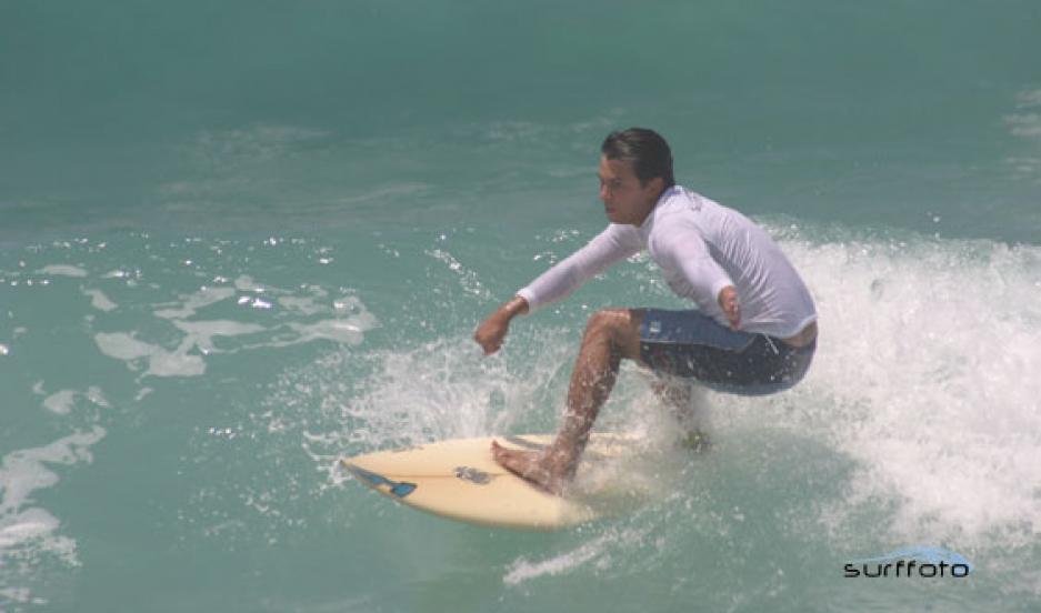 Brazilian surfer Guido Schäffer
