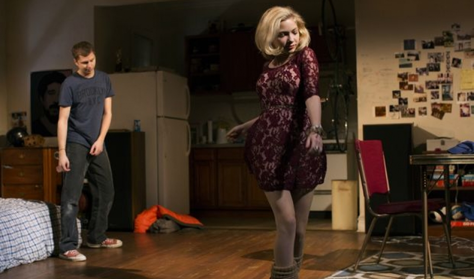 "Michael Cera and Tavi Gevinson in ""This Is Our Youth"" at New York's Cort Theatre"