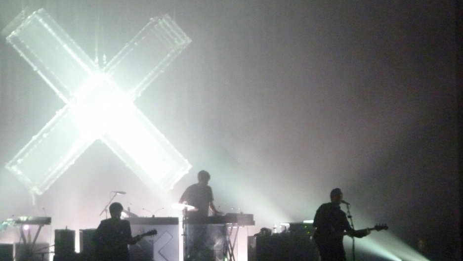 British band The xx performing at the Pabst Theater, Milwaukee.
