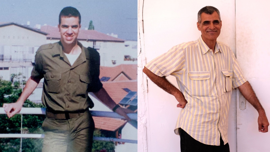 Linguists Arik Sadan (in his Israeli Army days) and Sobhi Bahloul. Sadan is an authority on the Arabic language. Bahloul authored the Hebrew curriculum for Gaza's Palestinians.