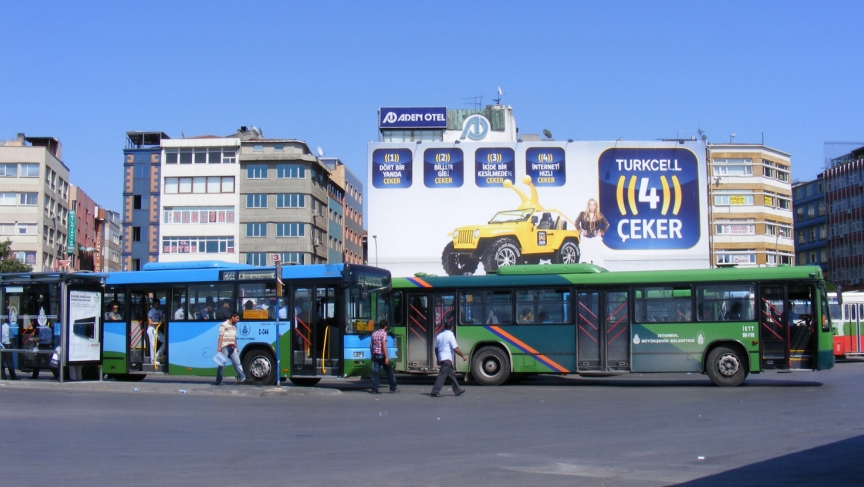 Turkish bus station