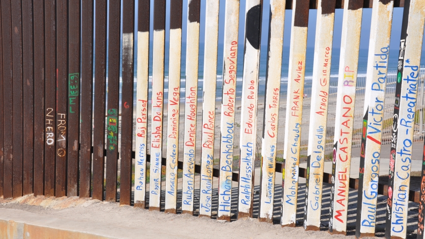Border fence at Friendship Park, Tijuana