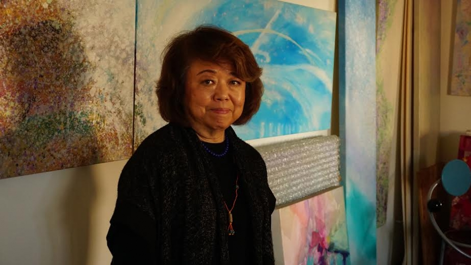 Painter and sculptor Nancy Uyemura