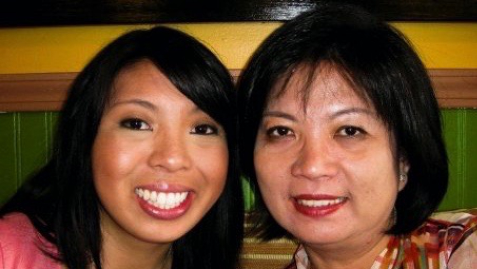 Lily Bui and her Vietnamese-born mother who arrived in the United States as a refugee in the 1980s.