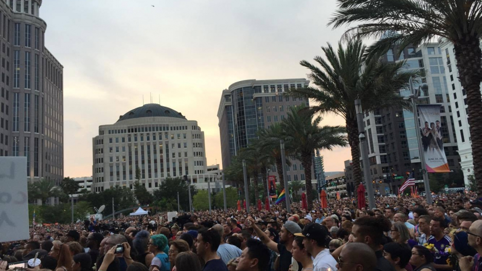 Pulse Orlando Mass Shooting Vigil