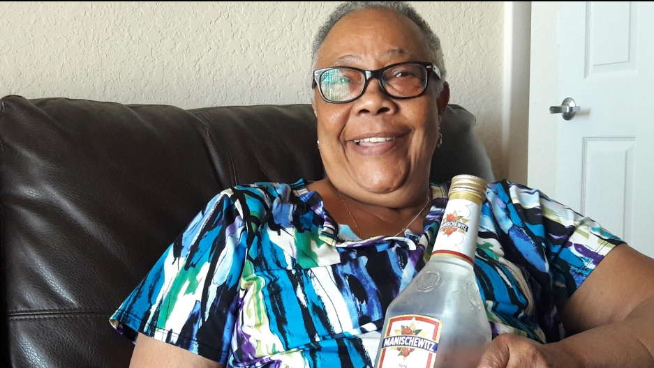 Hazel Bethel is a Manischewitz wine devotee. She's originally from Trinidad and was introduced to the wine by friends who worked in Jewish homes in New York.