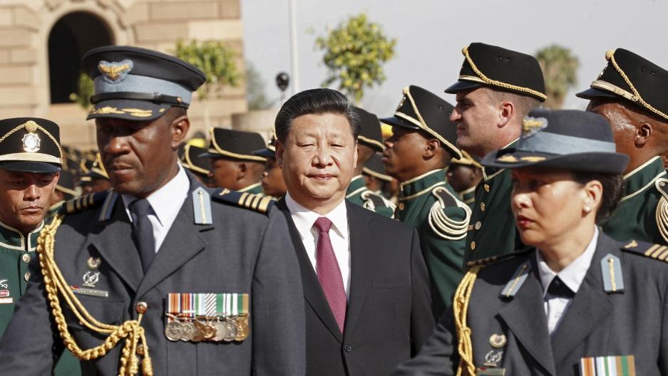 Xi Jinping in South Africa