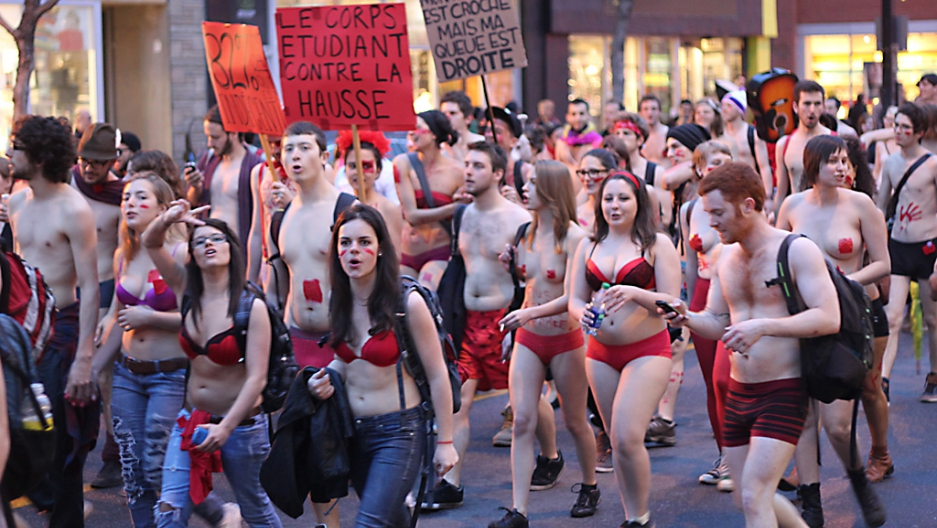 Belgium striptease protest over government   Stuff.co.nz
