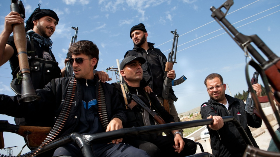 inside syria you will never guess who arms the rebels public