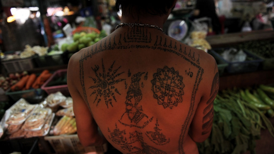 Thailand To Ban Foreigners From Getting Spiritual Tattoos