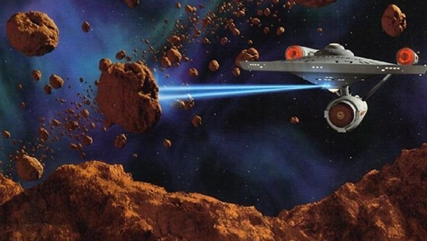 Star Trek tractor beam