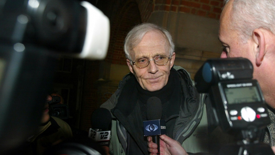 Mogens Amdi Petersen, shown in 2003, is the founder of a secretive organization called the Teachers Group, which former members, academics and the Danish media have likened to a cult. He's also an international fugitive wanted in Denmark for embezzlement