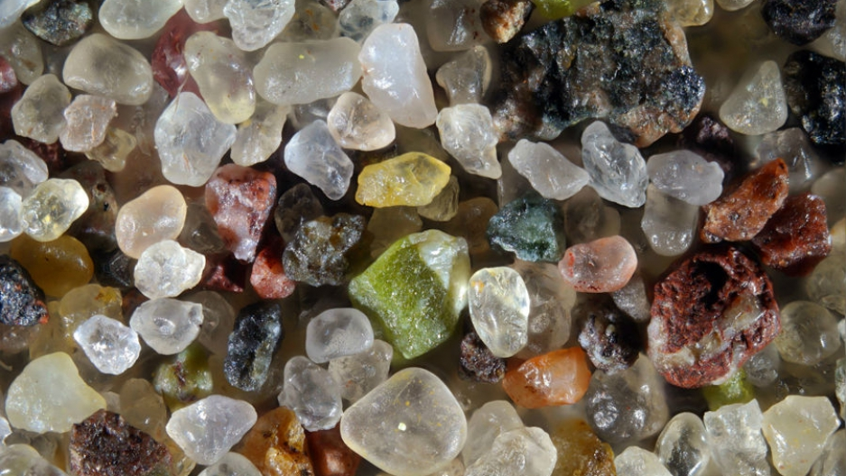 Sand found in Calumet, in Michigan's Upper Peninsula