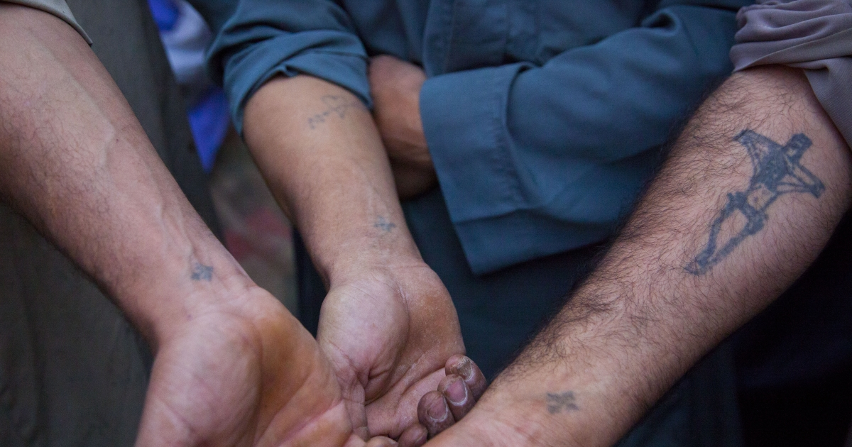 Villagers in Pakistan are arrested after cutting off the arms of a suspected burglar.</p>