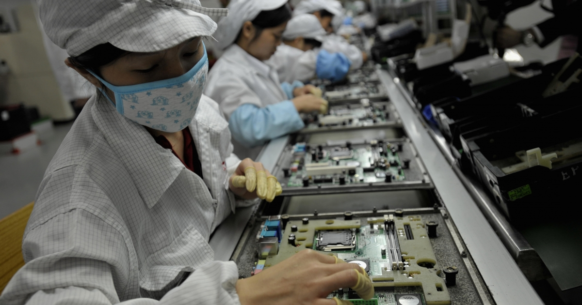 Taiwanese manufacturer Foxconn is rumored to be opening factories in the US.</p>