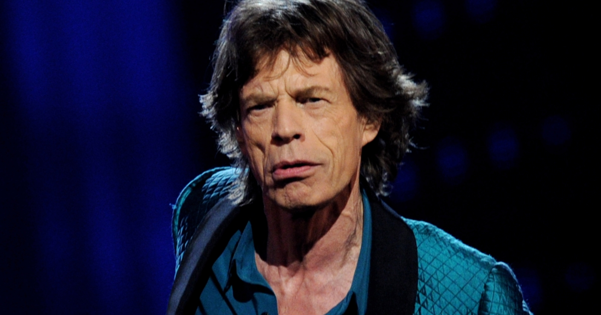 Singer Mick Jagger performs onstage during the 53rd Annual GRAMMY Awards held at Staples Center on February 13, 2011 in Los Angeles, California.</p>