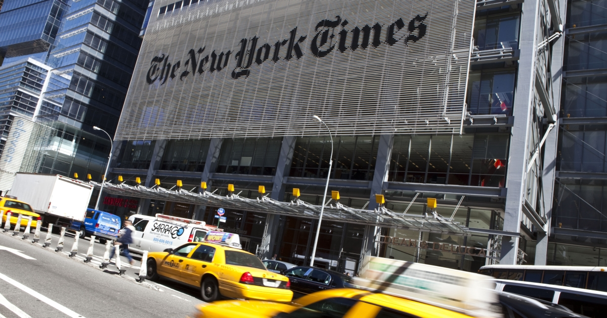 The New York Times announced that it would be launching a Portuguese edition in the new year.</p>