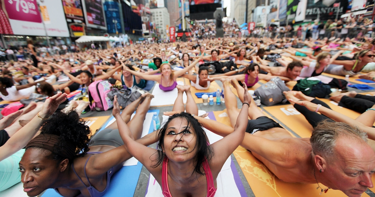 A new study found that group yoga helped stroke victims deal with debilitating after effects.</p>