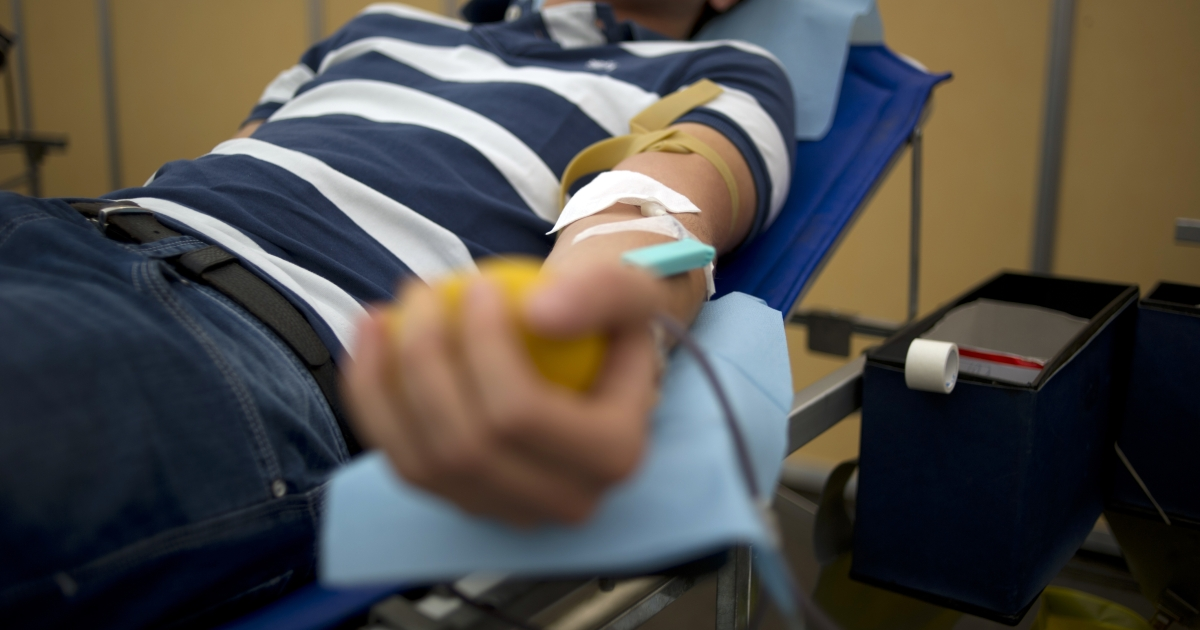 The American Red Cross said that the US blood supply is at a 15-year low.</p>