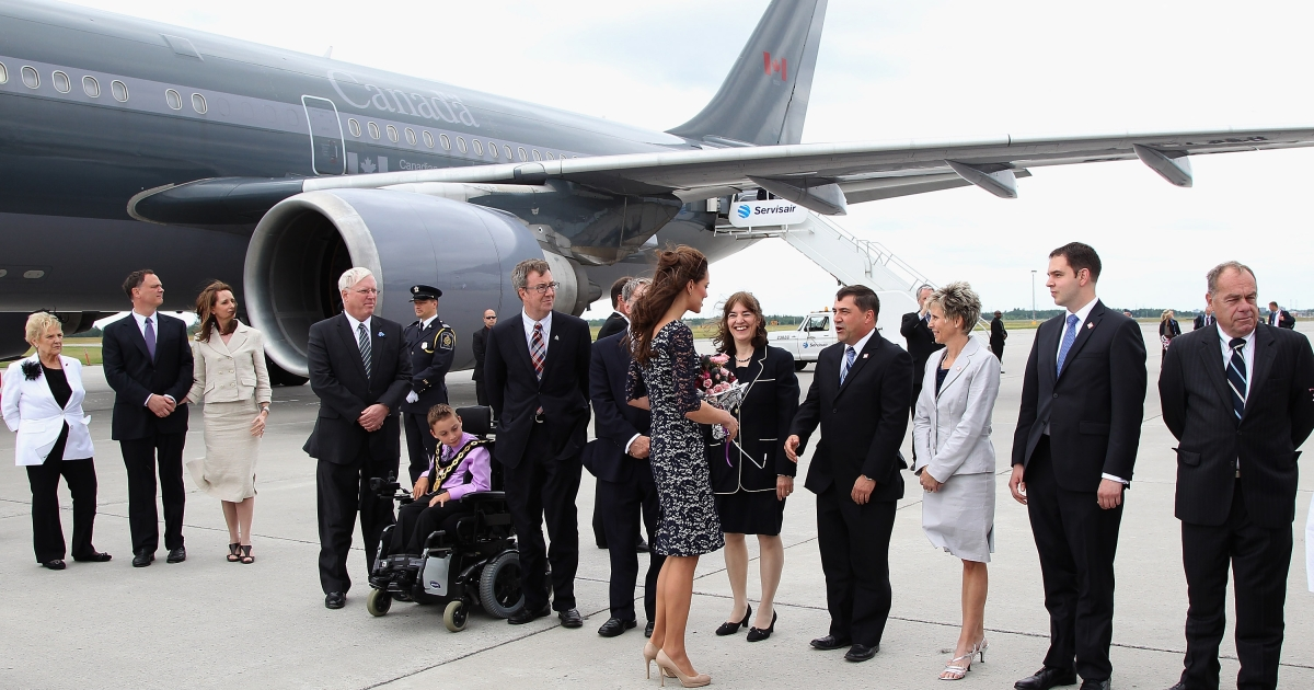 Next time Prince William and Kate Middleton fly through Ottawa's airport, the sweet nothings he whispers into her ear could be caught on tape.</p>
