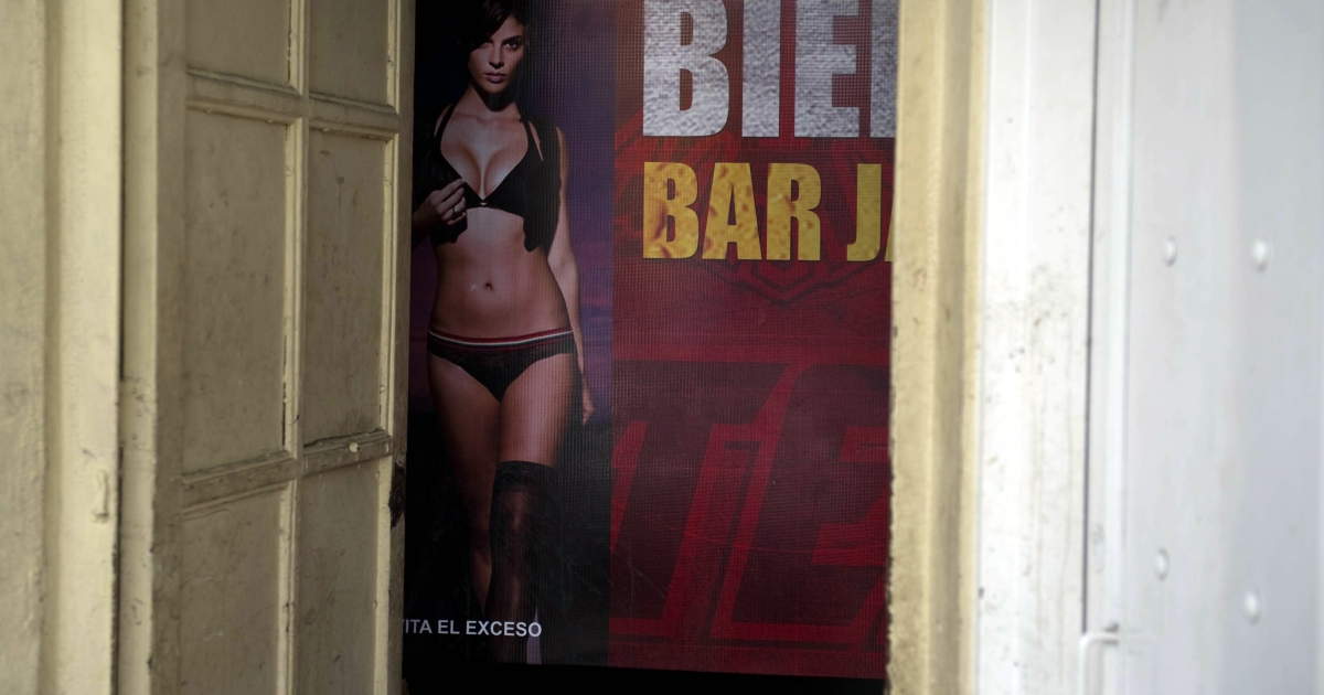 A bar in Culiacan, Sinaloa State — birthplace of the Sinaloa cartel. Sinaloa has banned ballads glorifying drug traffickers, which have otherwise attracted growing support in recent years.</p>