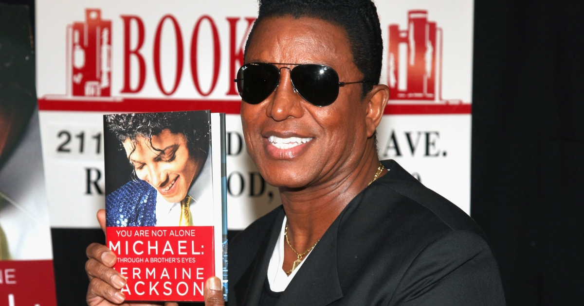 Jermaine Jackson promotes the new book 'You Are Not Alone: Michael Through A Brother's Eyes' at Bookends Bookstore on September 17, 2011 in Ridgewood, New Jersey.</p>