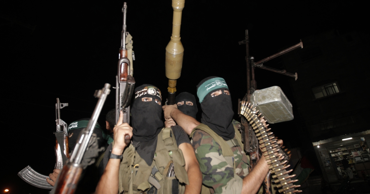 The al-Qassam Brigades is the military wing of the Palestinian Islamist political organisation Hamas.</p>