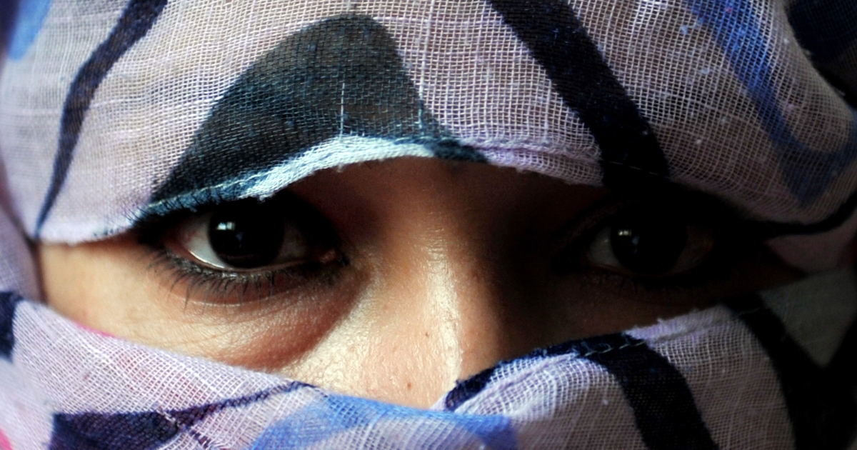 Shafiyah, 27, released from prison after three years in jail, poses for a portrait at a shelter run by women for Afghan women in Kabul on October 12, 2011. Shafiyah was arrested by police and imprisoned after fleeing from her husband who became a beggar after the Taliban government was ousted from power.</p>