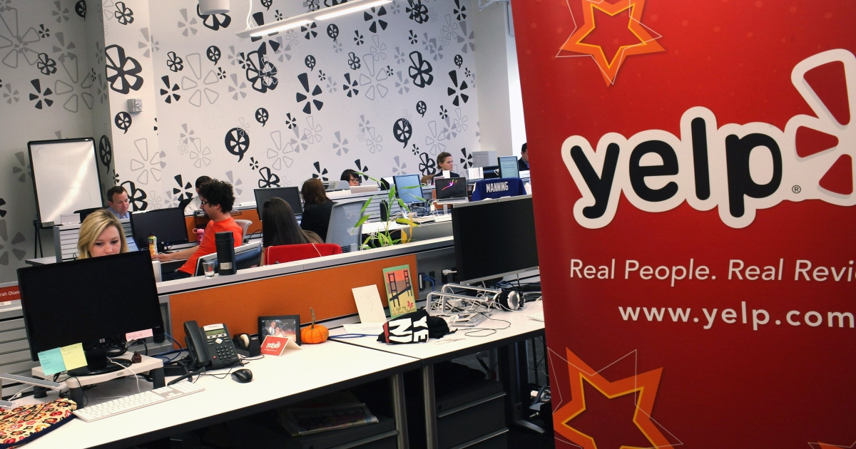 Yelp shares jumped Friday during the company's IPO, which is expected to raise about $107 million, giving the company a market capitalization of over $1 billion.</p>