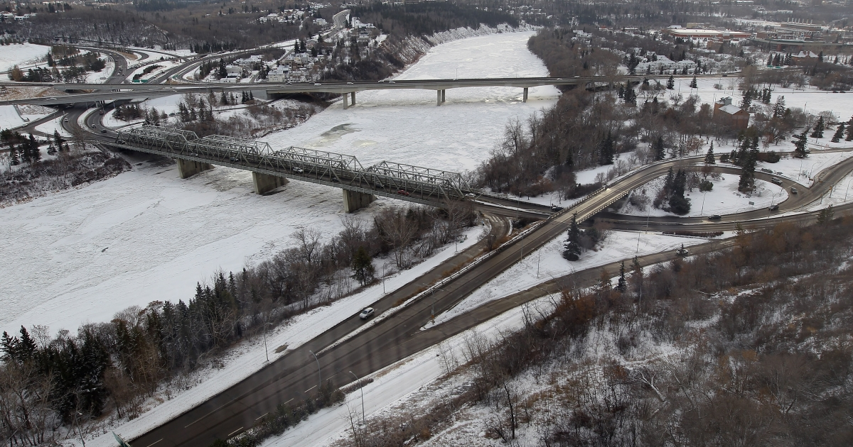 Edmonton, in Alberta, Canada, near where it is alleged that Australian mother Allyson McConnell drowned her two young sons in a bathtub before jumping off an overpass onto a freeway.</p>