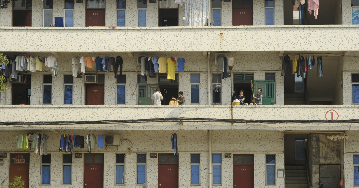 A view of Chinese migrant workers' accommodations in the southern Chinese city of Shenzhen. China's migrant workers, who have powered growth with cheap labor, are showing new knowledge of their rights and political sophistication as they seek higher pay and better conditions.</p>