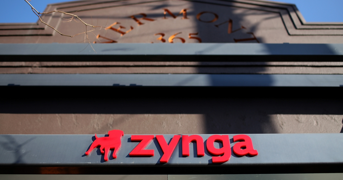 Zynga had its 2012 outlook cut causing its shares to plummet Thursday.</p>
